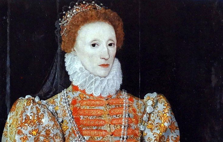 After her recovery from smallpox, Queen Elizabeth I started using a ceruse foundation on her face, neck and chest. (Photo by: Universal History Archive/UIG via Getty Images)