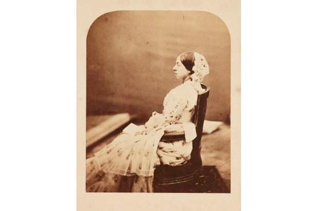A photograph by Roger Fenton of Queen Victoria, c1856. (Photo by The Royal Photographic Society Collection/Victoria and Albert Museum, London/Getty Images)