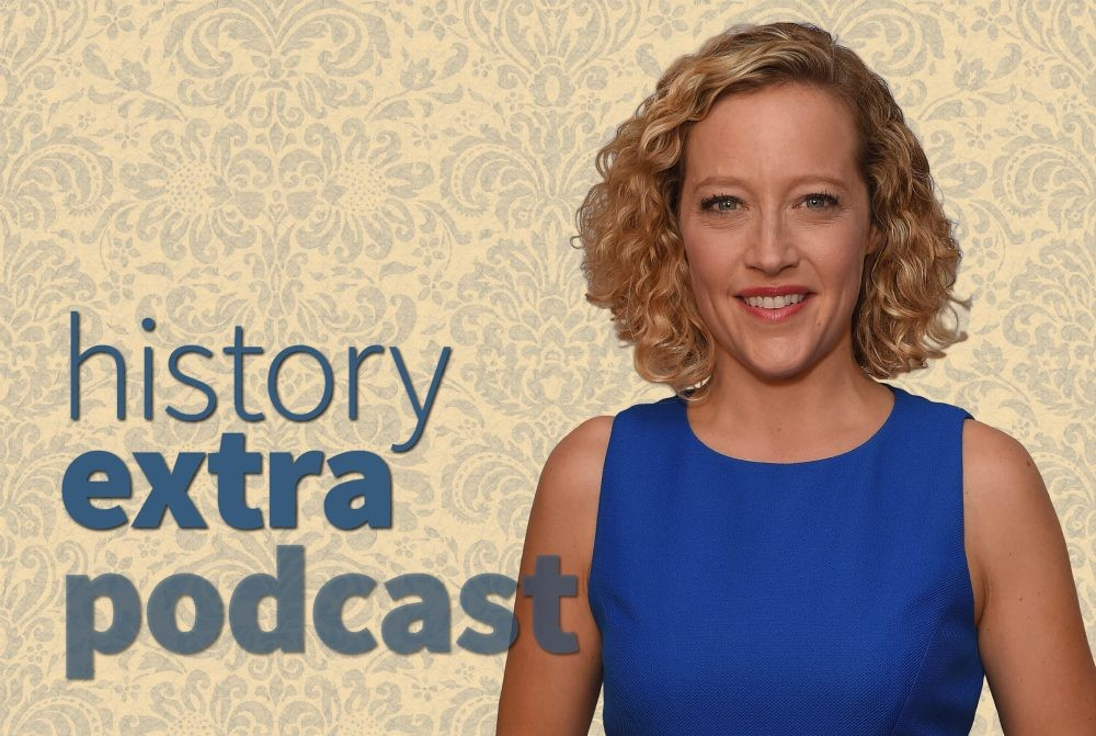 Cathy Newman speaks to the History Extra podcast about 'Bloody Brilliant Women'. (Photo by Getty Images)