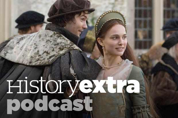 Jim Sturgess as George Boleyn and Natalie Portman as Anne Boleyn. in the film 'The Other Boleyn Girl' (2008) (Photo by Alamy)