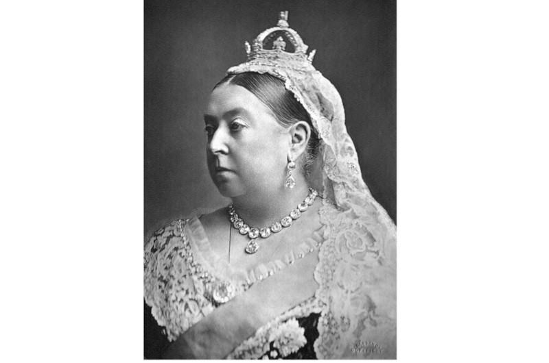 A portrait of Queen Victoria, who during her reign curbed the use of the title HRH (His or Her Royal Highness) by restricting it to children of a sovereign (of either gender) and grandchildren of a sovereign (in the male line). (Photo by Glasshouse Images/Alamy Stock Photo)