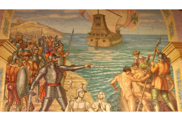 Conquest of Peru by Francisco Pizarro