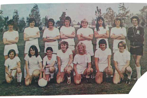 England Women's World Cup squad, Mexico, 1971