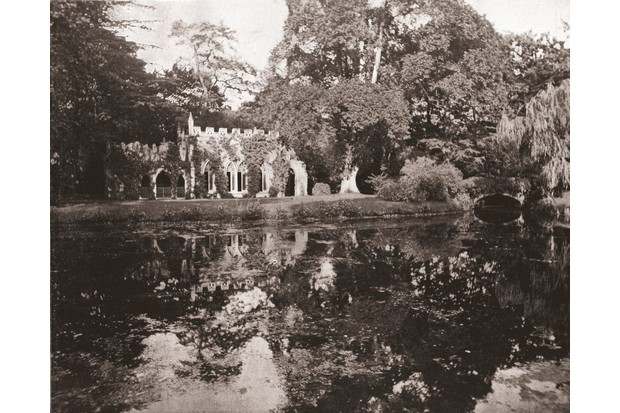 The ruins at Frogmore