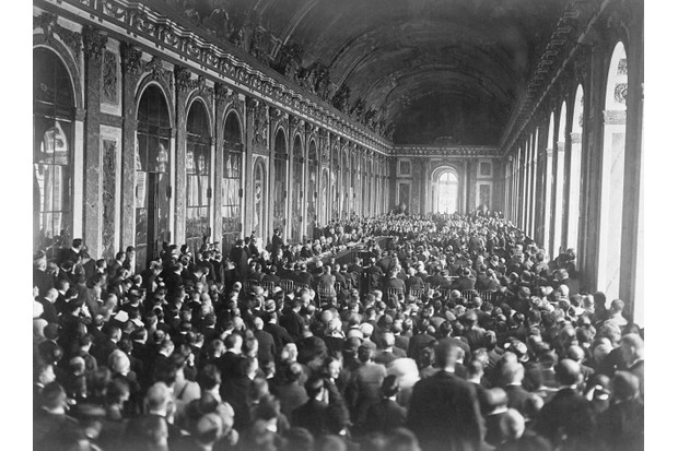 Signing of the Peace Treaty at Versailles