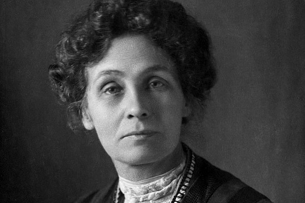 Emmeline Pankhurst. (Getty Images)