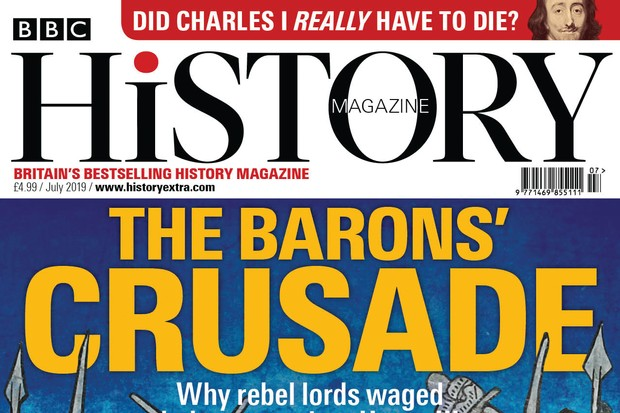 July 2019 issue of BBC History Magazine