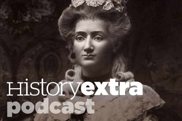 Edward Carey talks about Madame Tussaud on the History Extra podcast. (Wax Figure of Marie Tussaud (Photo by Getty Images)
