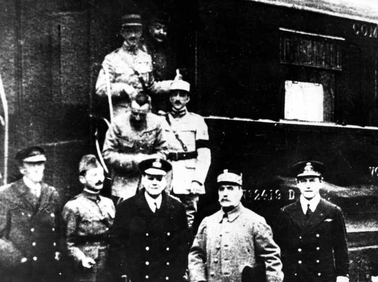 Where was the Armistice signed?