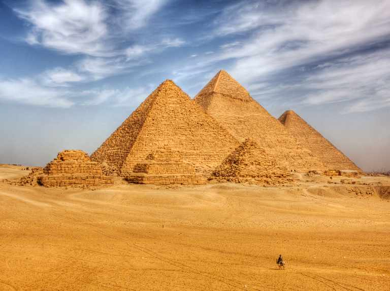 5 facts about the Great Pyramid of Giza