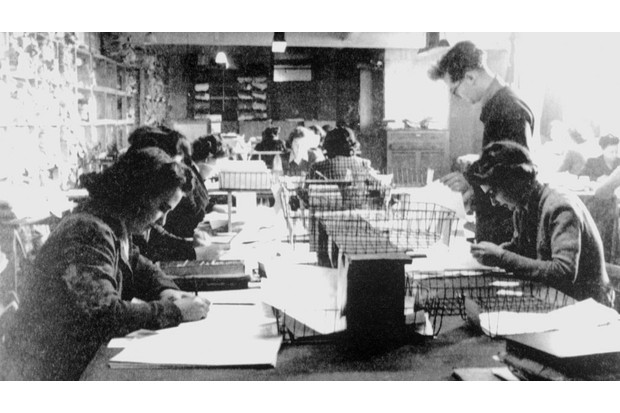 Code-breakers working at Bletchley Park