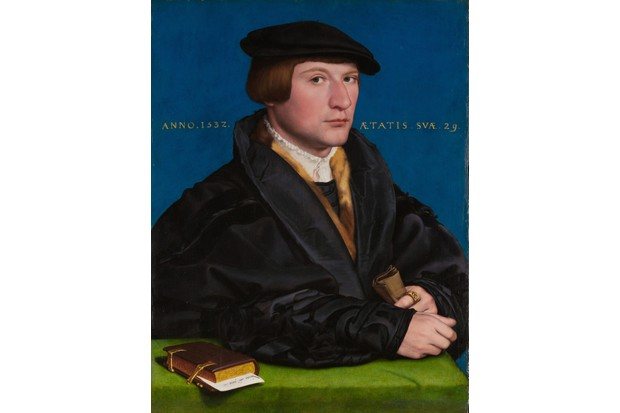 This painting by Hans Holbein the Younger is thought to depict Hanseatic merchant Hermann von Wedigh III, London, 1532. The English capital was home to a major Hanseatic base, the 'Steelyard'. (Photo by AKG)
