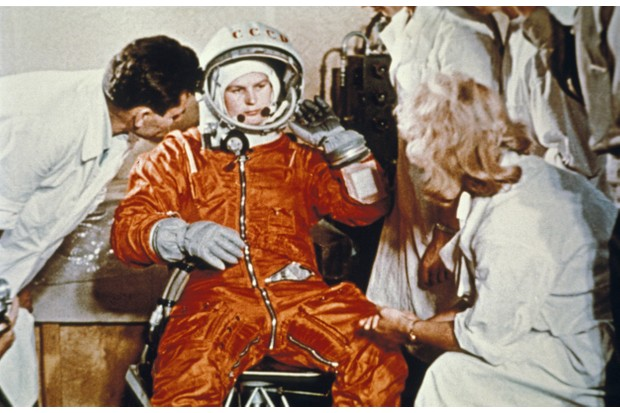 Valentina Tereshkova orbited Earth 48 times over almost three days in June 1963 (Photo by Sovfoto/Universal Images Group via Getty Images)