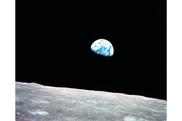 The Apollo 8 crew were the first people to witness the Earth rise over the Moon (Photo by NASA)