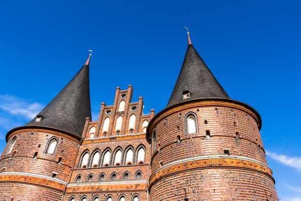 The gates to Lübeck, the Hanseatic League's pre-eminent city. It was here that the league's court of appeal was based. It was also ere that Johann Wittenborg was executed for failing to defeat the Danes. (Photo by Dreamstime)