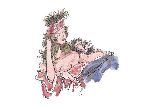 Illustrations by Ian Morris.