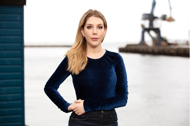 Katherine Ryan on Who Do You Think You Are? (Image by BBC/Wall to Wall Media Ltd/Stephen Perry)