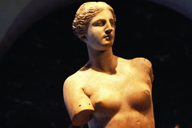 The Venus de Milo sculpture