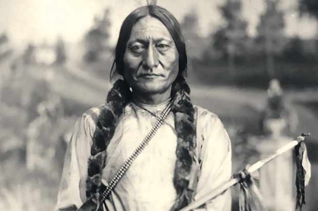 Native American leader Sitting Bull
