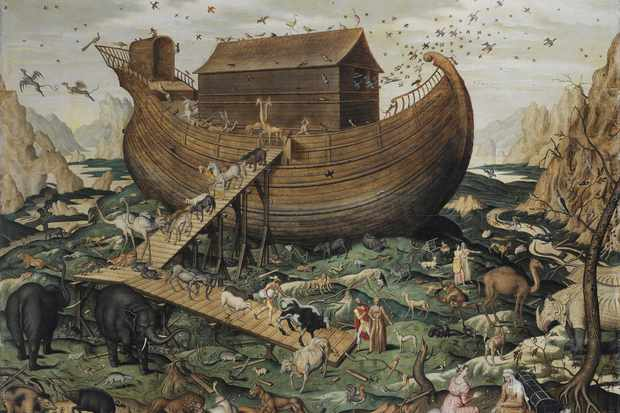 The fact that so many cultures have a myth about a devastating flood has led some historians to wonder if there may have been a real event that explains the myths. (Photo by Fine Art Images/Heritage Images/Getty Images)