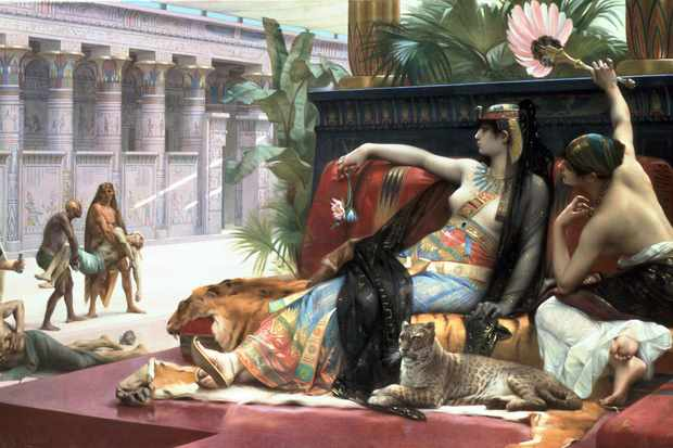 Seven princesses with the name 'Cleopatra' are credited as sitting on the throne of Egypt. (Photo by Universal History Archive/Getty Images)