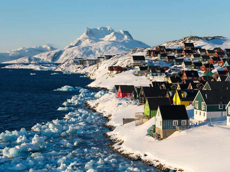 Explore the city of Nuuk, the rainbow capital of Greenland