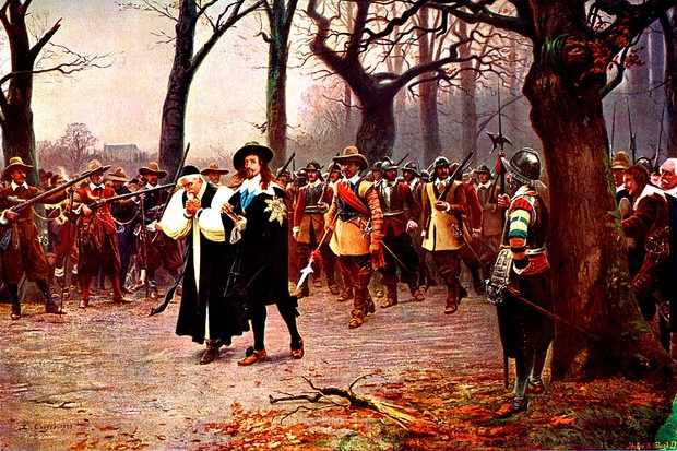 Charles I on his way to be executed, 30 January 1649. (Photo by Culture Club/Getty Images)