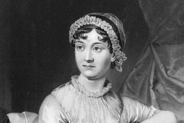English novelist Jane Austen. (Photo by Hulton Archive/Getty Images)