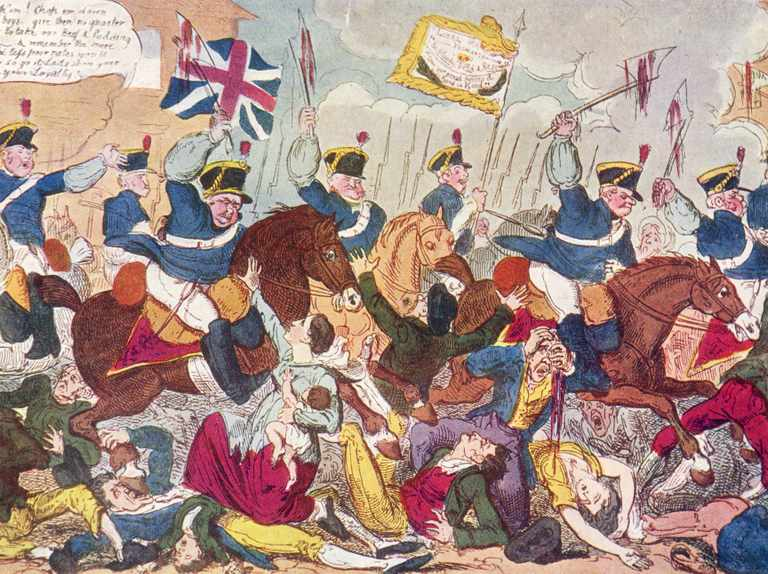 "A ""more shocking"" massacre? How we might have overestimated the Peterloo crowds"