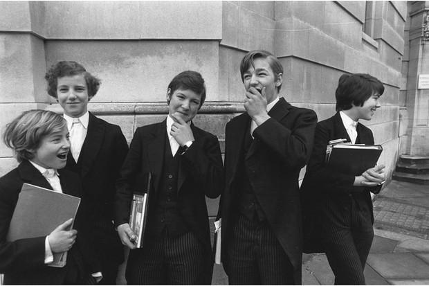 Eton College schoolboys