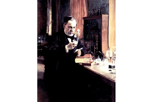 French biologist Louis Pasteur