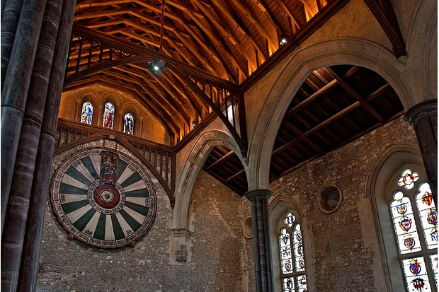 The Great Hall of Winchester and Round Table