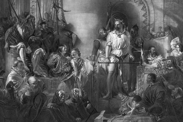 William Wallace on trial in 1305