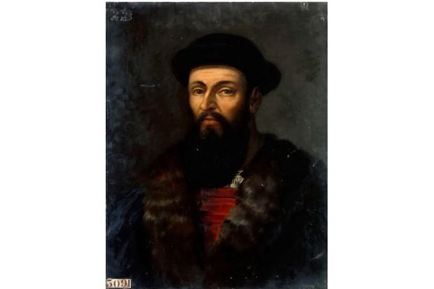 A portrait of Ferdinand Magellan