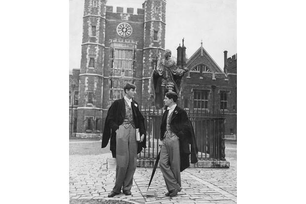 Members of Pop at Eton College
