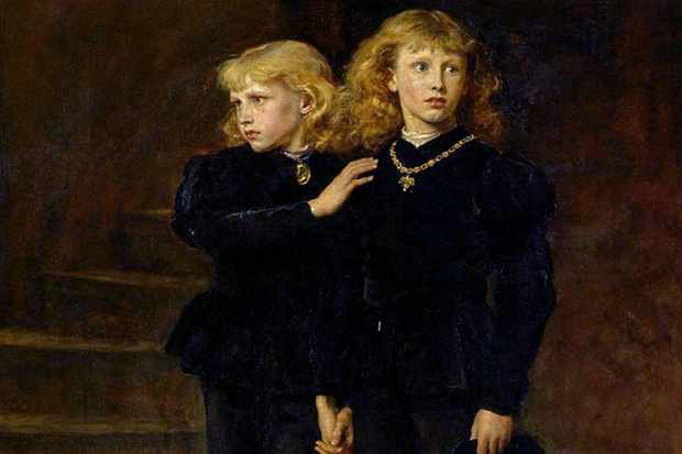A painting of the Princes in the Tower