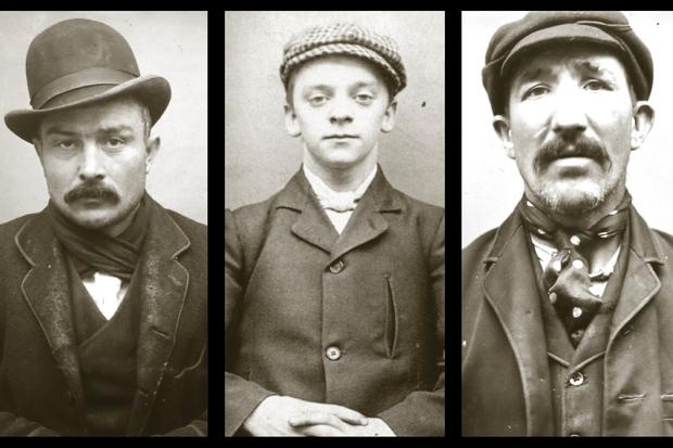 19th-century mugshots