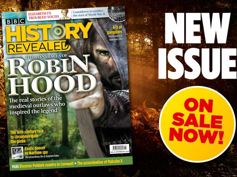 September 2019 issue of BBC History Revealed out now!
