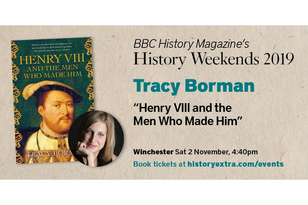 Tracy Borman talks on Henry VIII