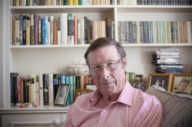 Sir Max Hastings. (Image by Fran Monks for BBC History Magazine)