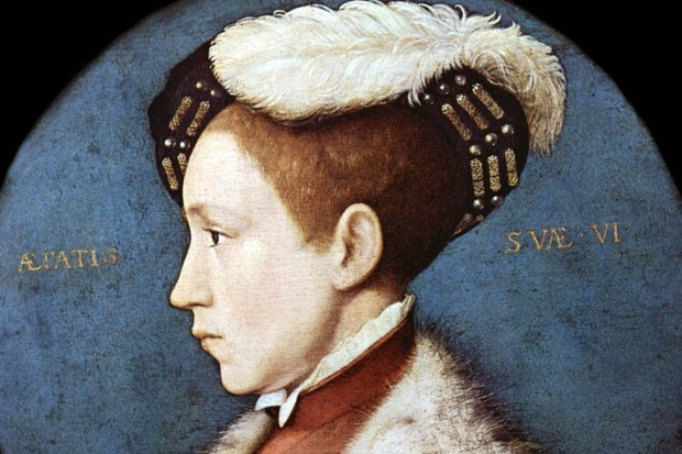Holbein's portrait of Edward VI