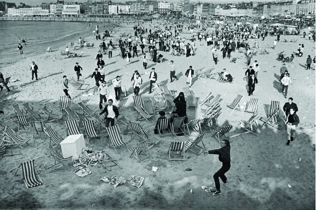 Mods and Rockers at Margate beach