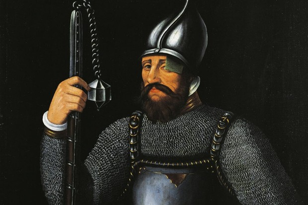 Jan Žižka, the general whose peasant army defied the Holy Roman Empire in the 1420s.