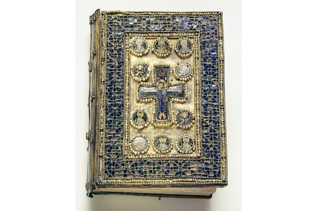 This enamelled Byzantine liturgical book, encrusted with pearls, was almost certainly looted during the Fourth Crusade (1202–04). (Image by Bridgeman)