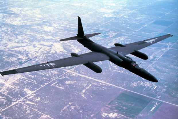 The Lockheed U-2 shares little in common with a flying saucer. (Image by Alamy)
