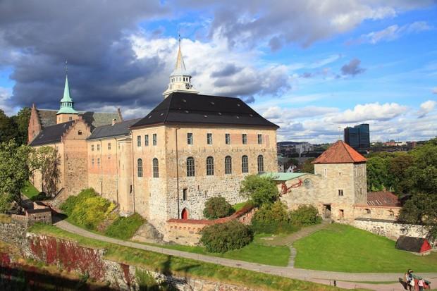 Akershus Festning in Oslo, Norway