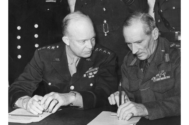 President Eisenhower and General Montgomery
