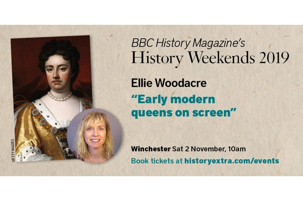 Ellie Woodacre's talk at BBC History Magazine's Winchester History Weekend 2019