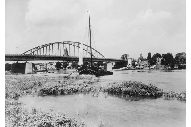 The bridge over the Rhine at Arnhem