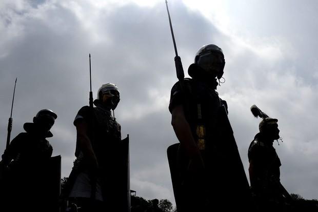Teutoberu battle (Photo by Nigel Treblin/Getty Images)